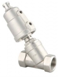 Ventil inox Normal Inchis actionare pneumatica PP1050 PN 16 DN 1 1/4 SMS-TORK